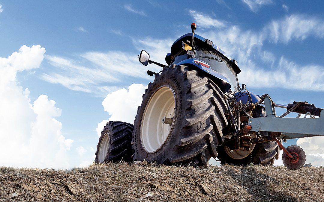BKT Agrimax V-Flecto – det optimala traktordäcket för den medvetne lantbrukaren.