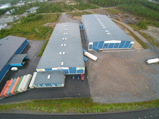 Gripen Wheels Finlands nya hall!