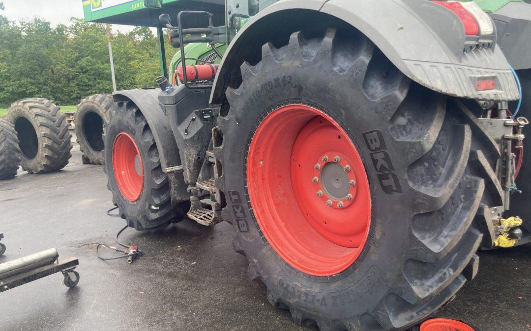 Ett set AGRIMAX V-FLECTO VF till vår kund och återförsäljare Sölvesborgs Gummi, Euromaster Partner.