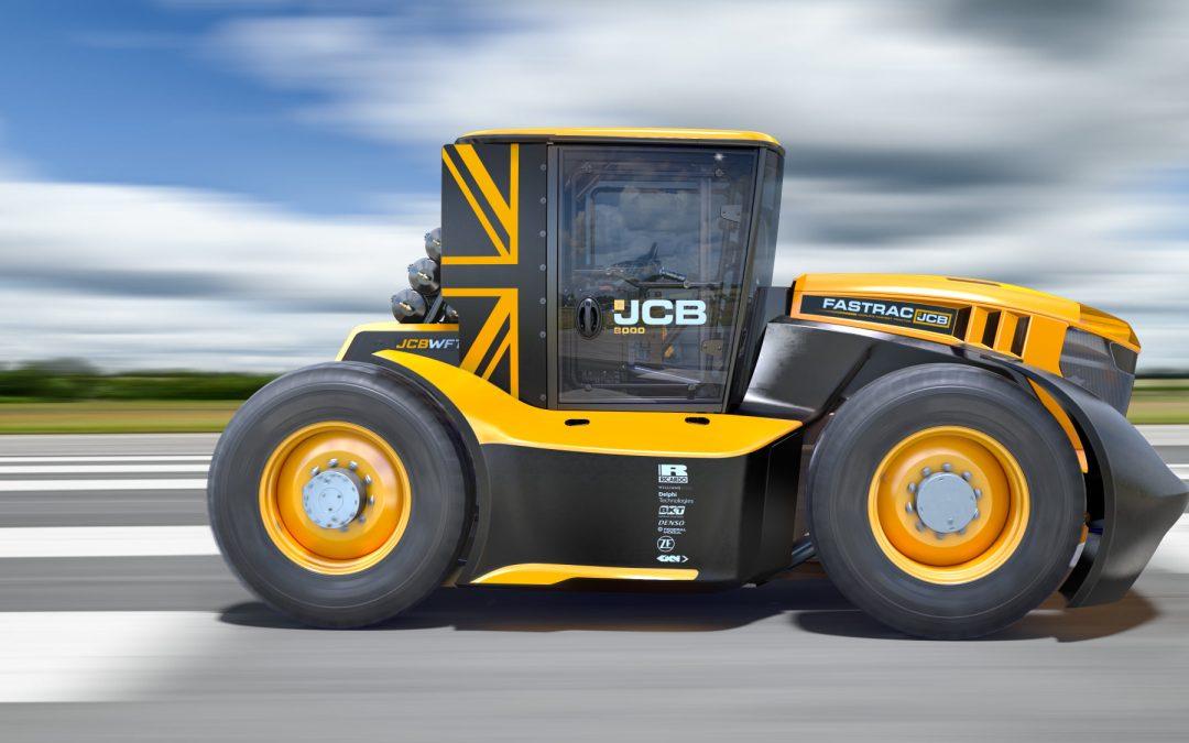 BKT däck på världens snabbaste traktor!