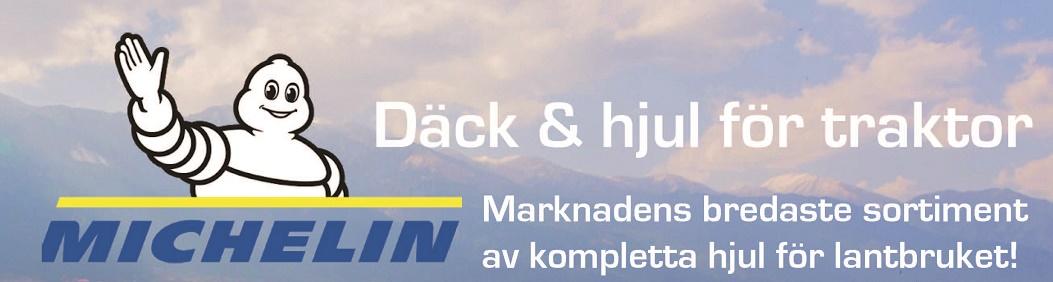 Kampanj på Michelindäck & hjul för traktor!