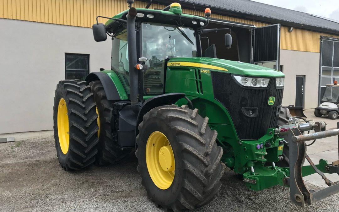 En leverans av BKT AGRIMAX RT-855 till familjen Albinsson på Albinsson Maskincenter AB