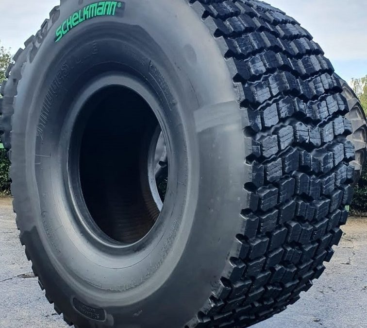 SCHELKMANN WINTER – Regummerade entreprenaddäck nu åter hos Gripen Wheels.