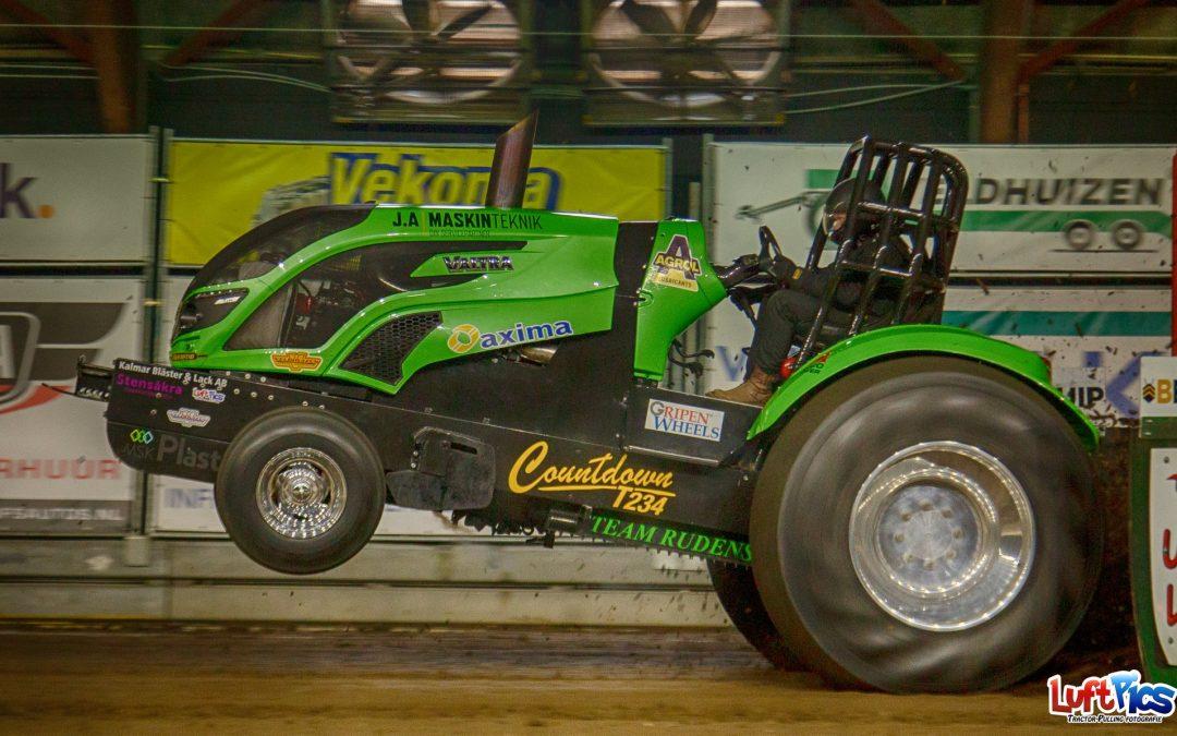 Traktorpulling mot Corona.