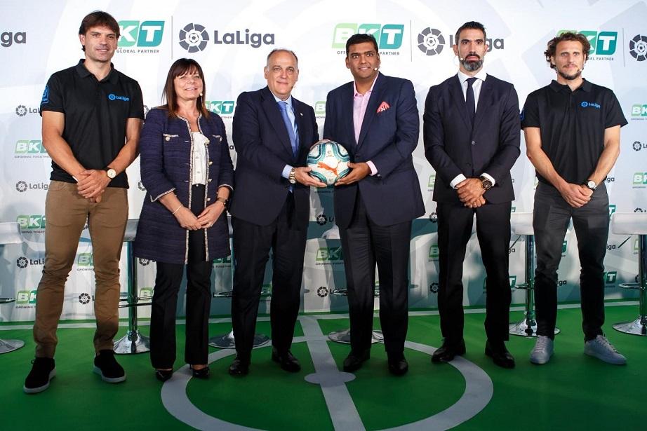 BKT och La Liga i formellt partnerskap.