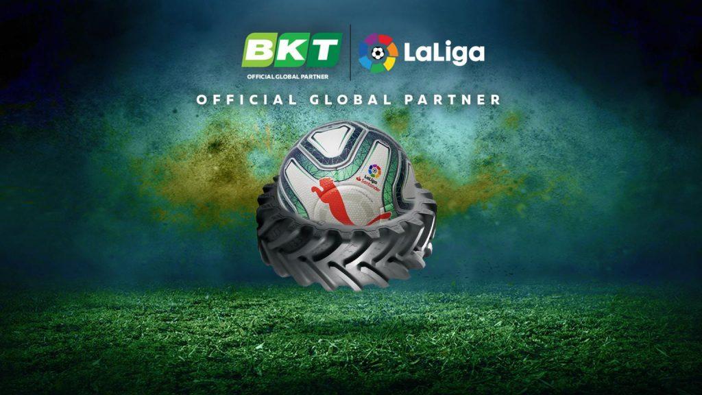 BKT Tires – Officiell sponsor av spanska La Liga!