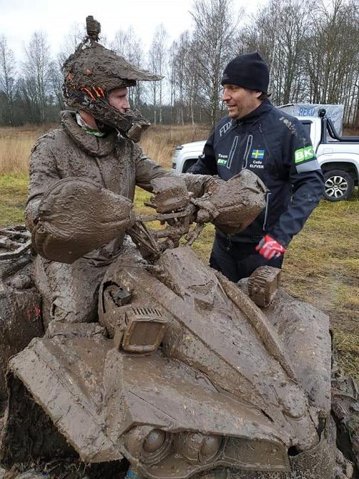Enduro i Kumla- vinst igen för Fredrik Bäck, Team BKT Sweden ATV!